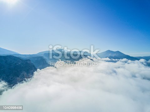 istock Above the clouds 1040998456