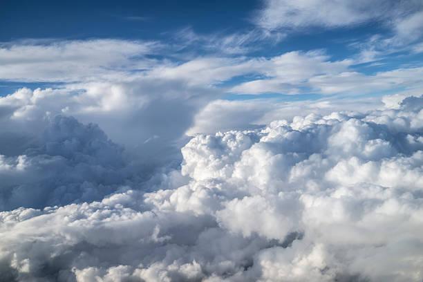 Über den Wolken. – Foto