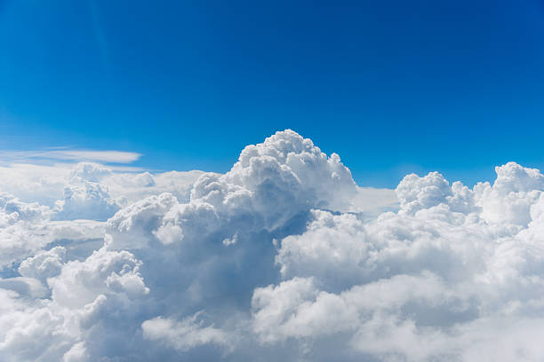 above the clouds - clouds stock photos and pictures