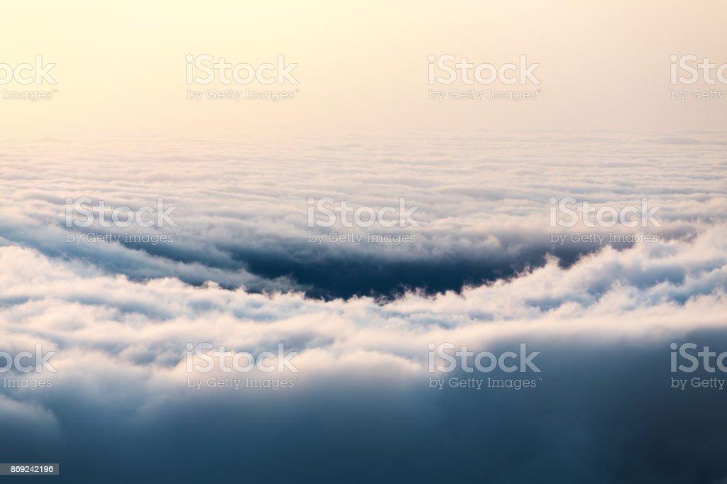 Au-dessus des nuages - Photo