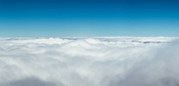 Above The Clouds - foto stock