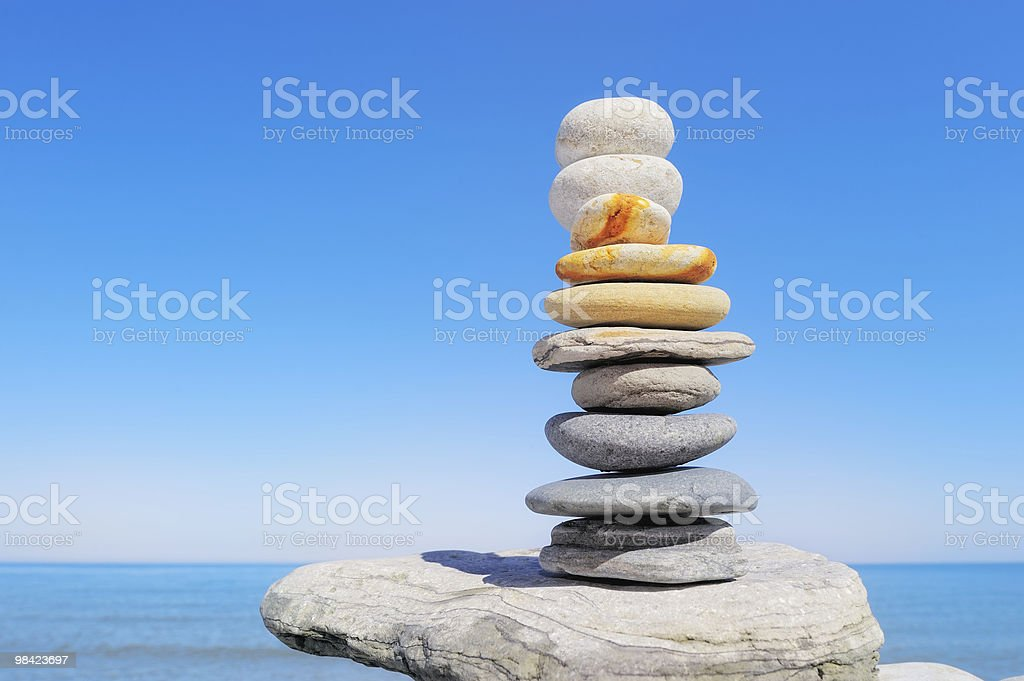Above the Sea royalty-free stock photo