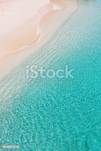istock above view at anguilla beach 623092516