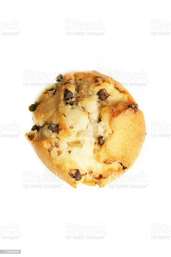 Above view of muffin stock photo