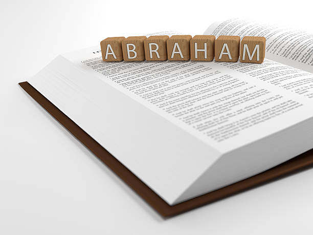 Abraham and the bible Abraham and the Bible - The word Abraham layed on the bible. Abraham stock pictures, royalty-free photos & images