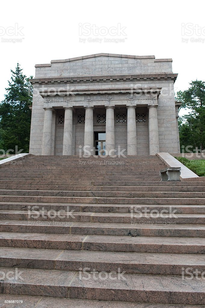 Abraham Lincoln Birthplace Memorial stock photo