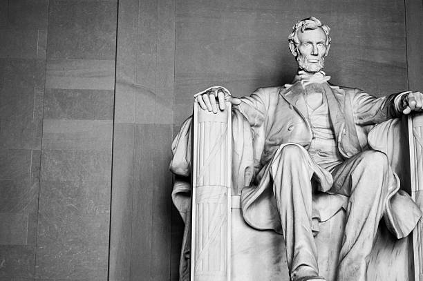 Abraham Lincoln Memorial en Washington, C.C. - foto de stock