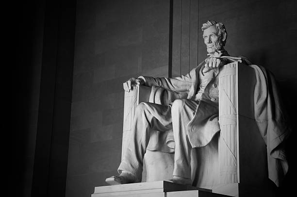 Abraham Lincoln Memorial - foto de stock