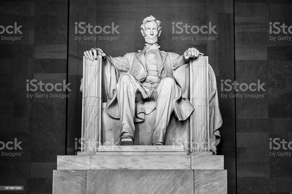 Abraham Lincoln Memorial royalty-free stock photo