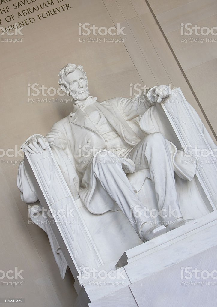 Abraham Lincoln royalty-free stock photo