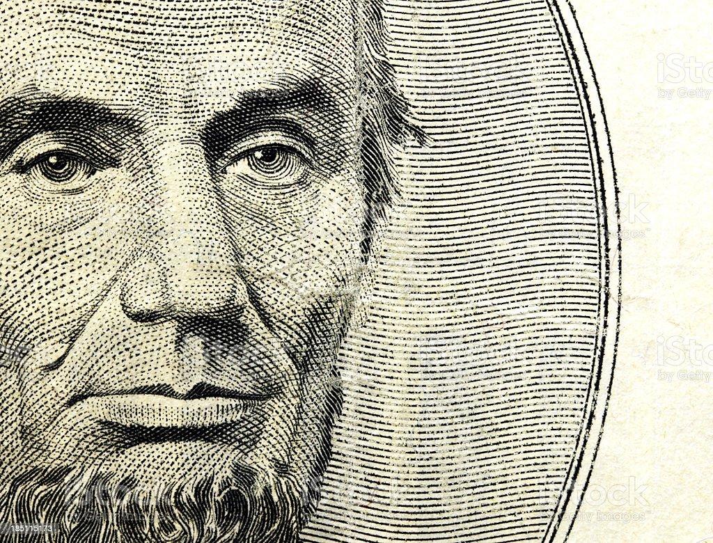 Abraham Lincoln Lizenzfreies stock-foto