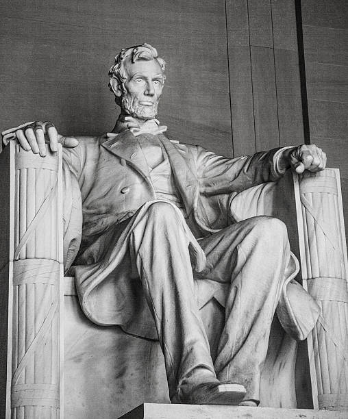 Abraham Lincoln - foto de stock
