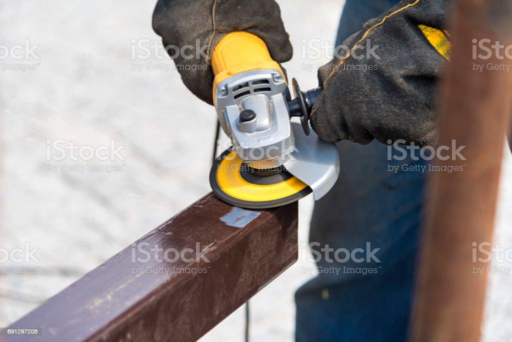 Abrasion stock photo