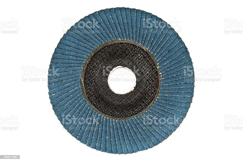 Abrasive disks stock photo