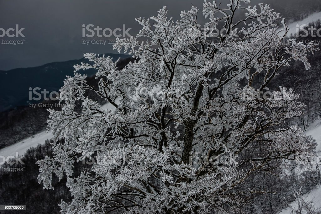 Inverno Abruzzese stock photo