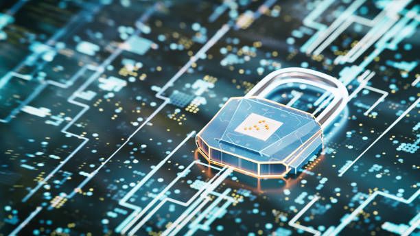 Abs Data Protection stock photo