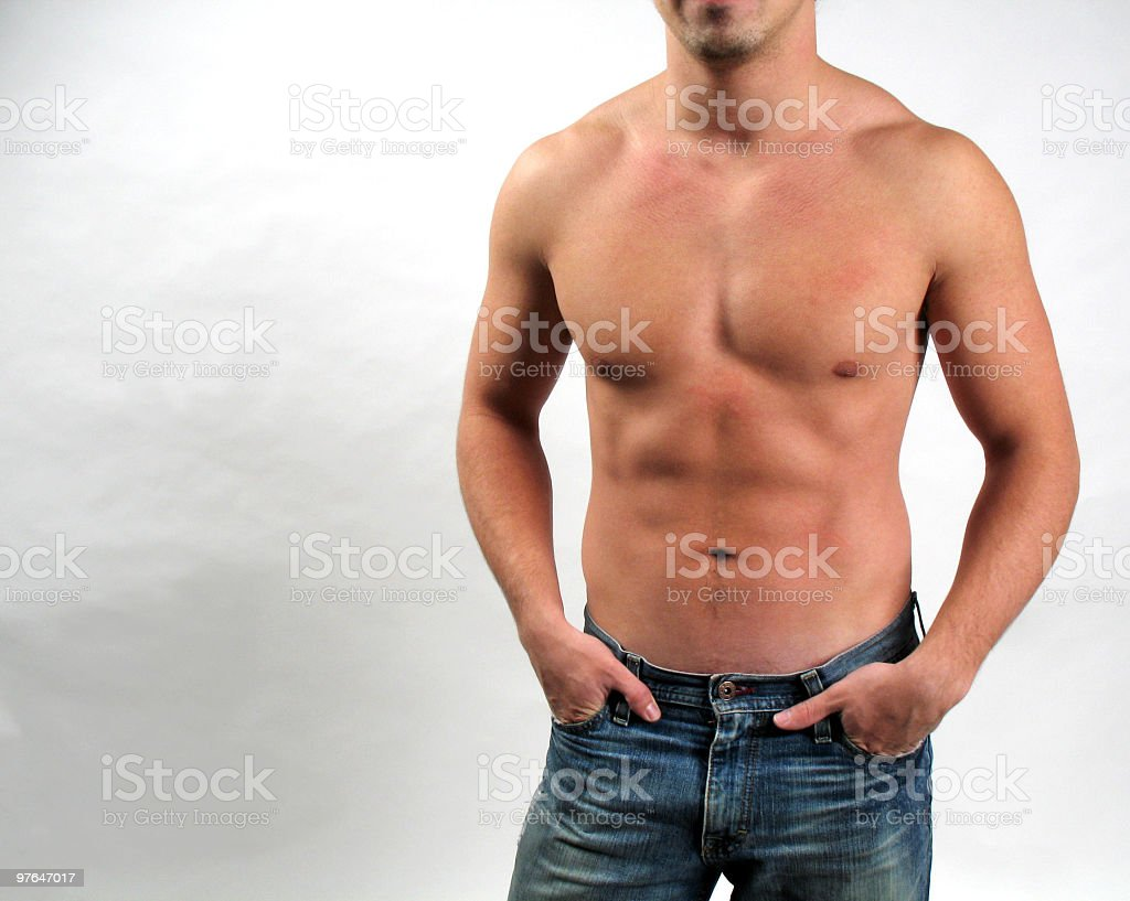 abs of steel royalty-free stock photo