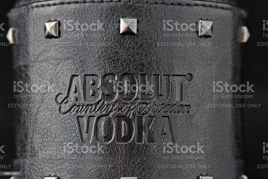 Absolut Vodka Rock Edition royalty-free stock photo