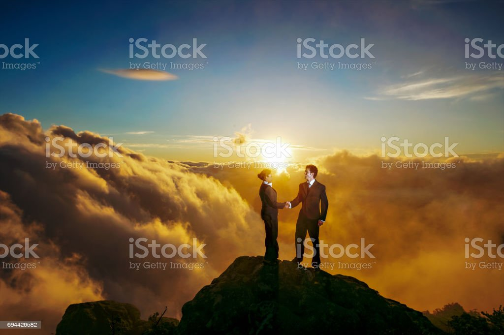 Absolute Success stock photo