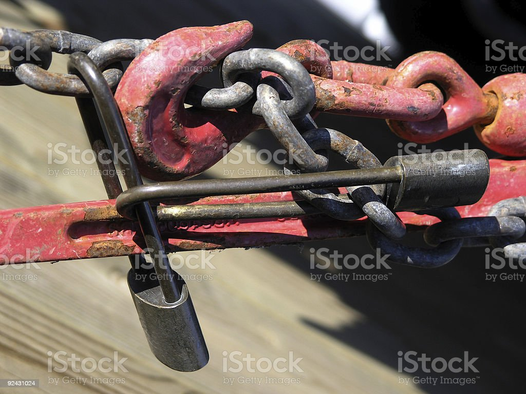 Absolutely SECURE royalty-free stock photo