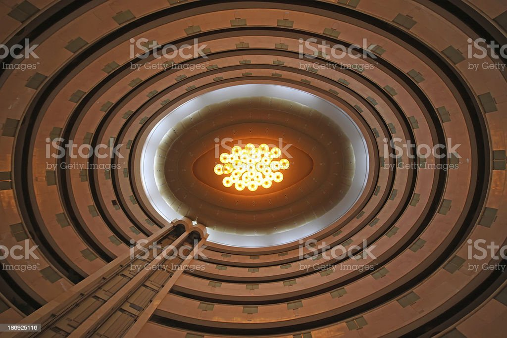 absorb dome light and curve royalty-free stock photo