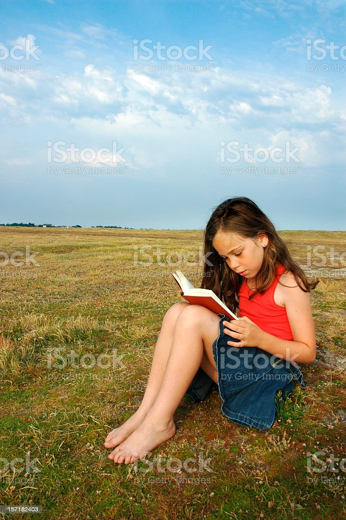 Absorbed stock photo
