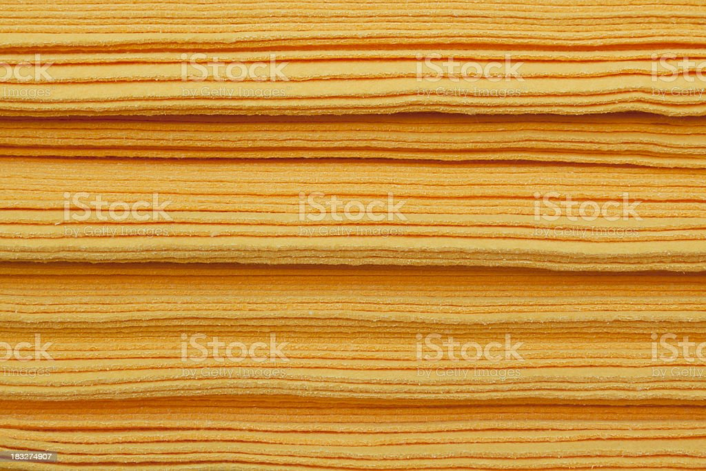 Absorbent Sponge Cloths, Close Up, Stacked stock photo