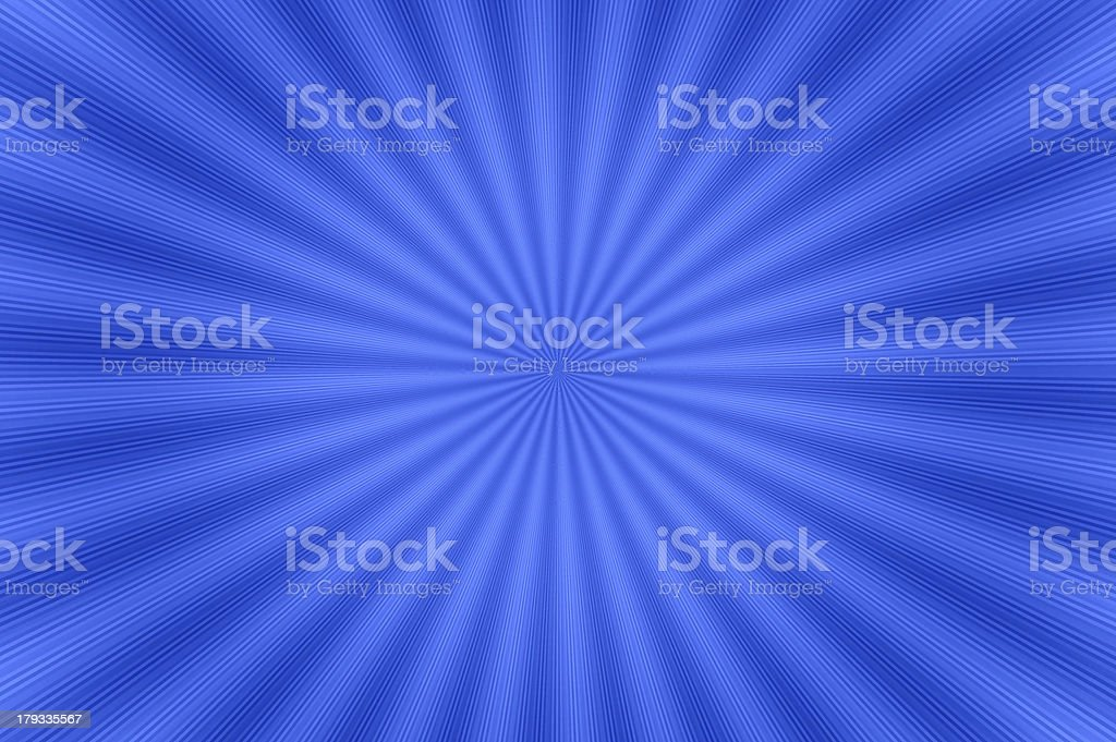 Abstact background of radial pattern - blue. stock photo