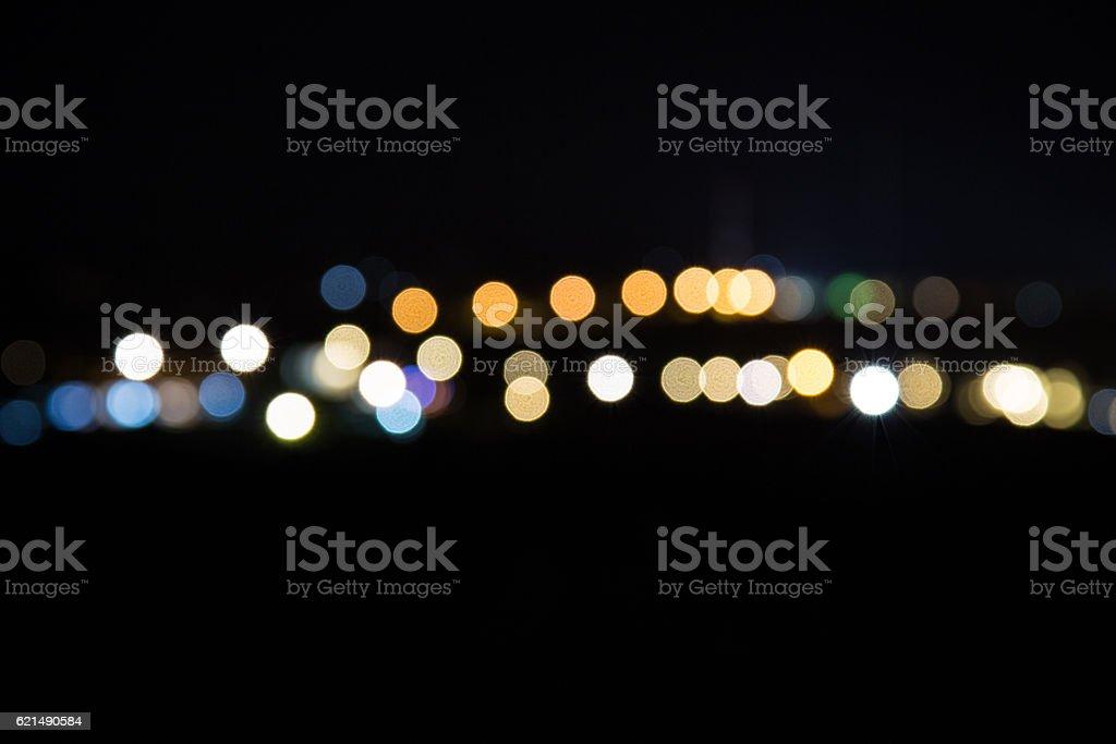 abstact bokhe night Lizenzfreies stock-foto
