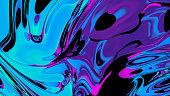 Abstact creative fluid colors backgrounds. Trendy Vibrant Fluid Colors. 3d render