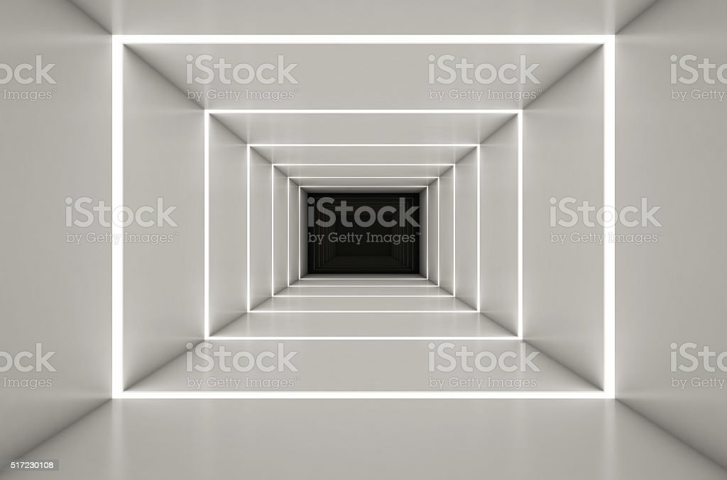 Abstact digital 3d white background - 3d render stock photo