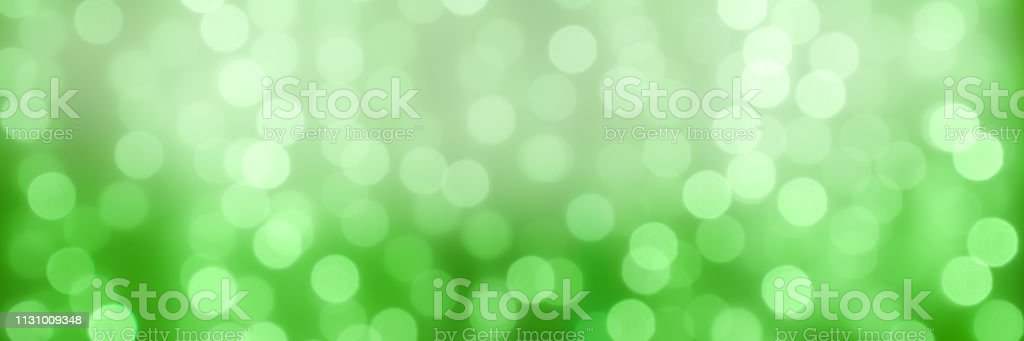 abstact holiday background with bokeh light balls stock photo
