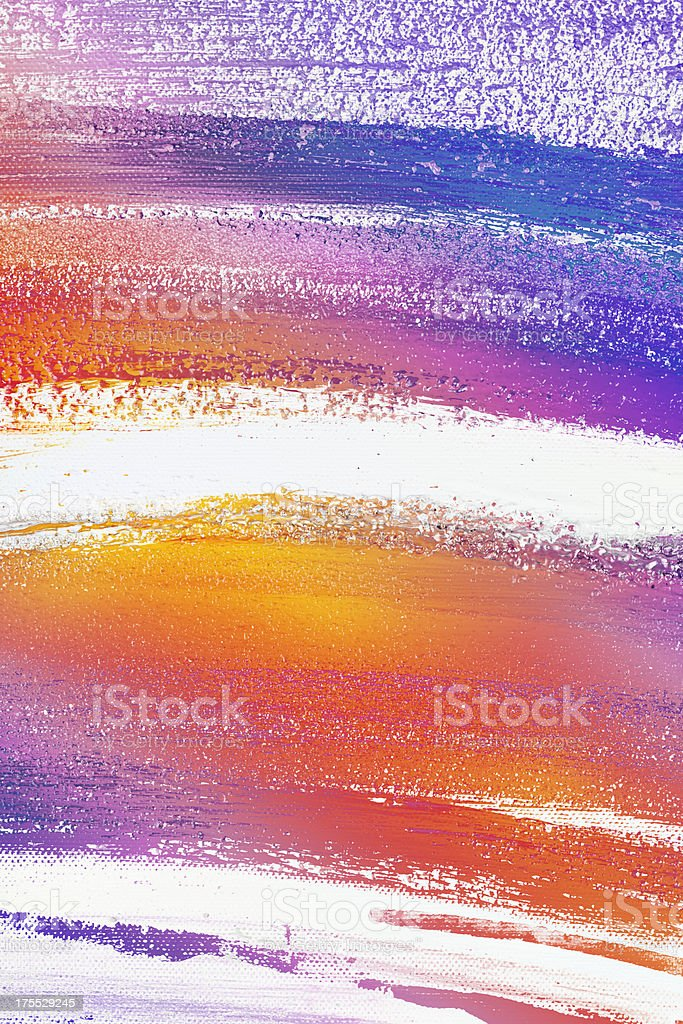 Abstact paint stock photo