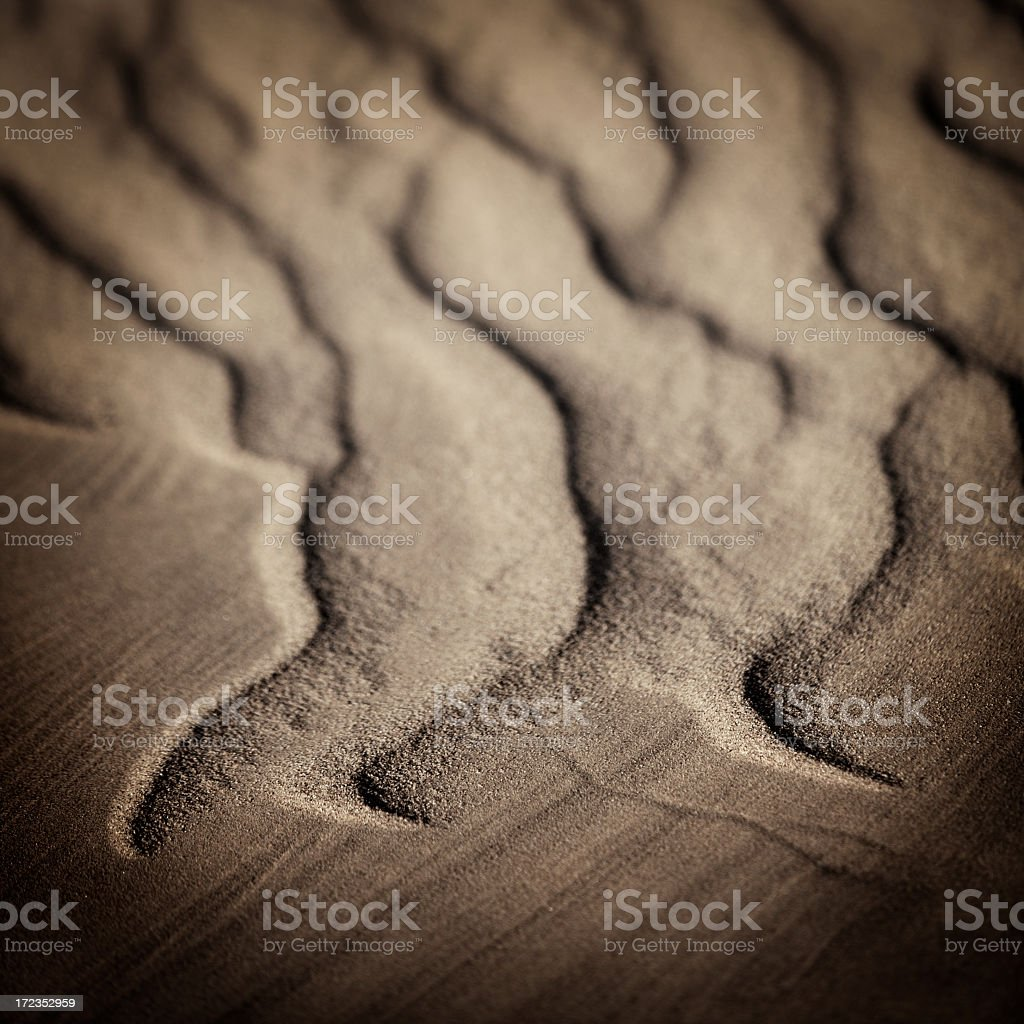 Abstact Sand Dune royalty-free stock photo