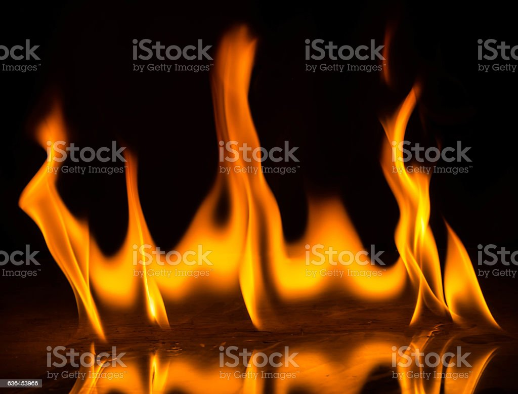 Abstact Wallpaper Fire Flames On Black Background Stock Photo Download Image Now Istock