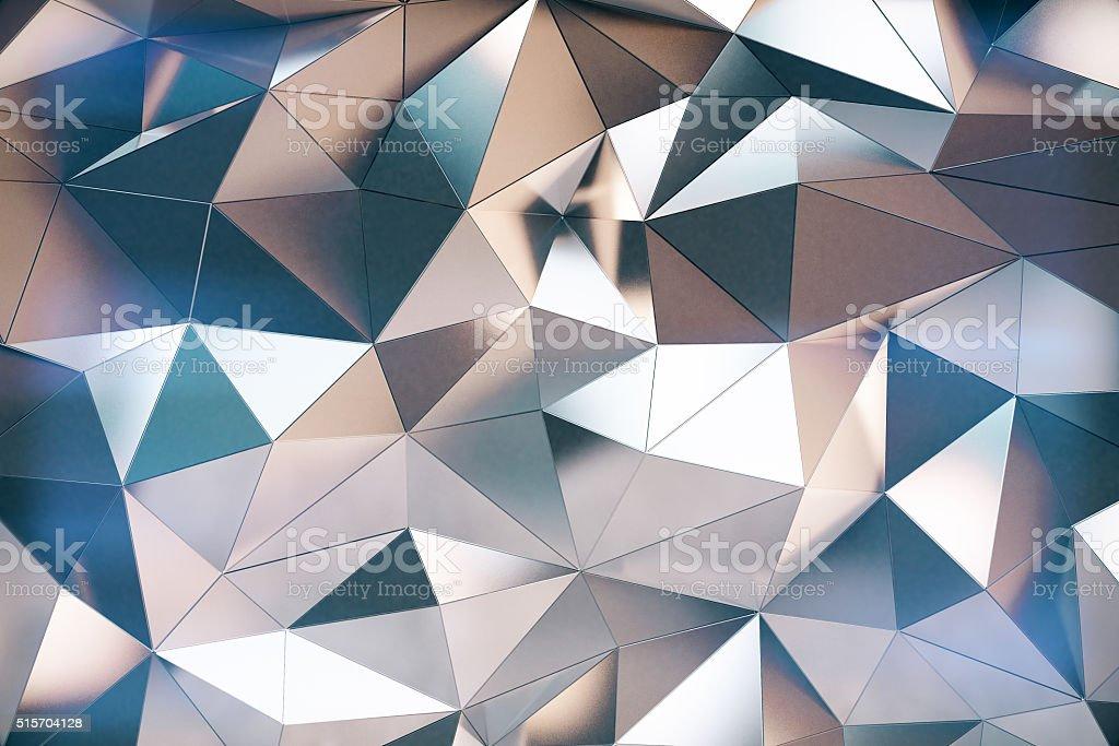 Abstarct 3d futuristic graphite wall stock photo