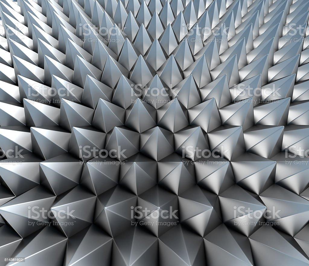 Abstarct cones background stock photo