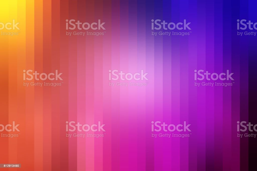 Abstarct Lined Background with Rainbow Colors stock photo