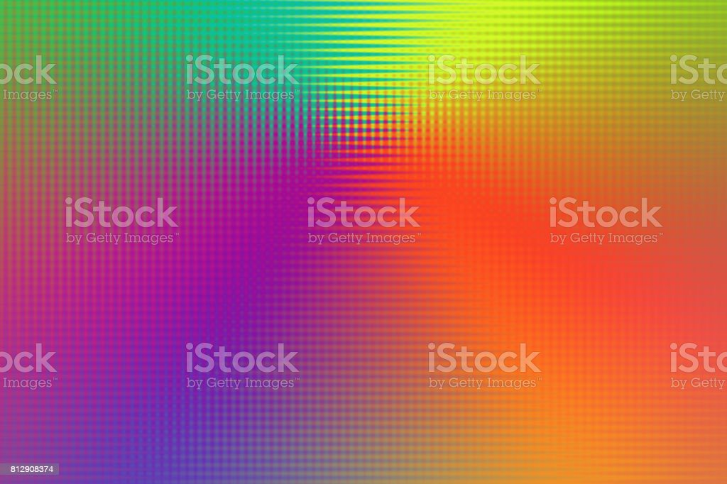 Abstarct Pixelated Background with Rainbow Colors stock photo