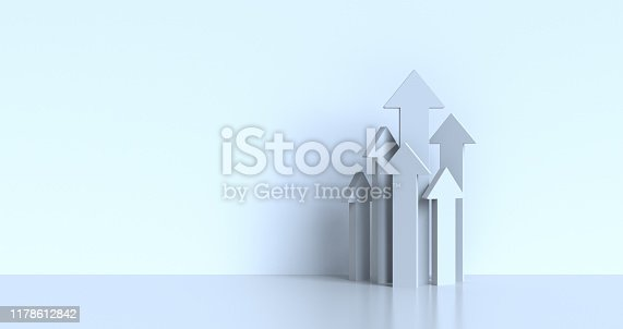 abstract 3d arrows