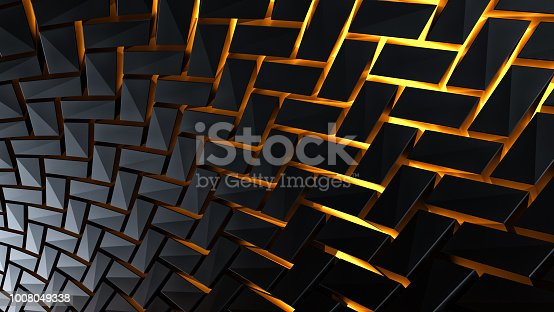 602331300istockphoto Abstract 3d background 1008049338