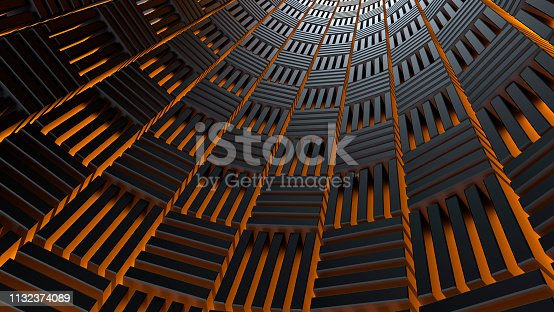 istock Abstract 3d background 1132374089