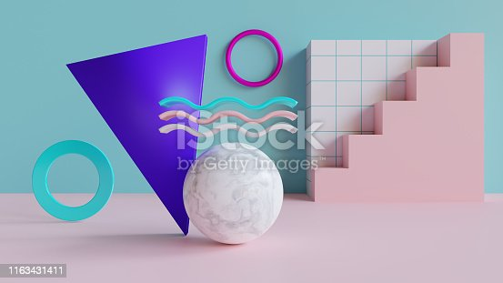 istock Abstract 3d background 1163431411