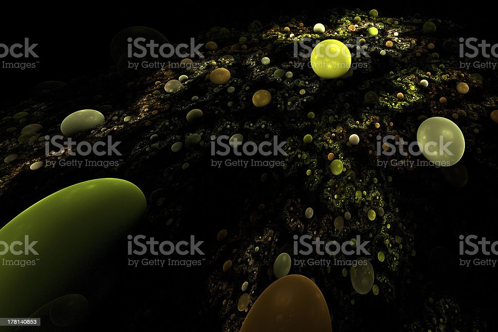 Abstract 3D background royalty-free stock photo
