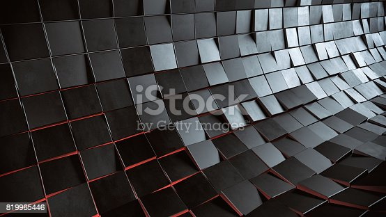 istock Abstract 3d background 819965446