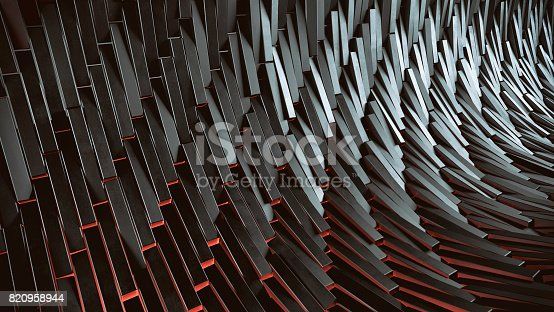 602331300istockphoto Abstract 3d background 820958944