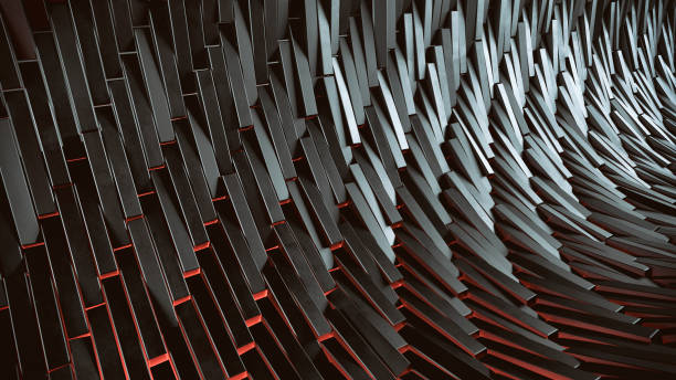 abstract 3d background - industrial modern stock photos and pictures