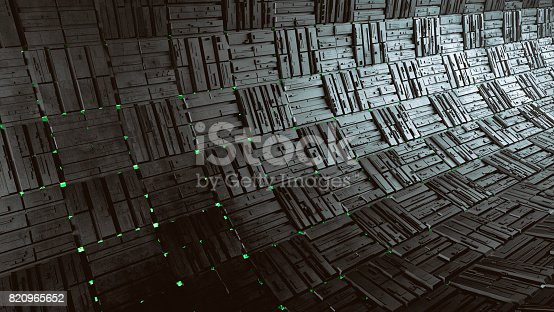 istock Abstract 3d background 820965652