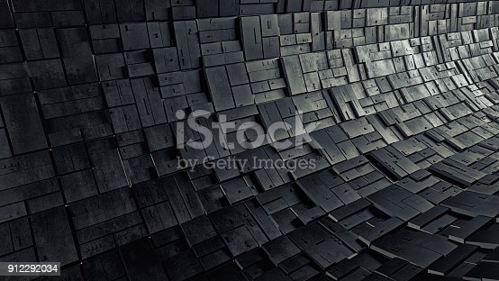 istock Abstract 3d background 912292034
