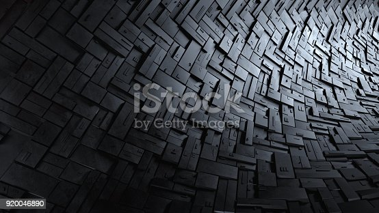 istock Abstract 3d background 920046890